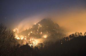 smoky mountains foil